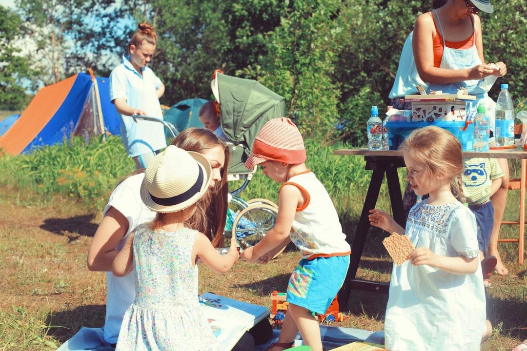 Детки отдыхают с Тетей Мотей Шанти Дом / Shanti Dom Leto Opening festival 2016